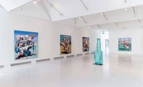 Arndt Art Agency Ben Quilty Free Fall Cromwell Place 2021