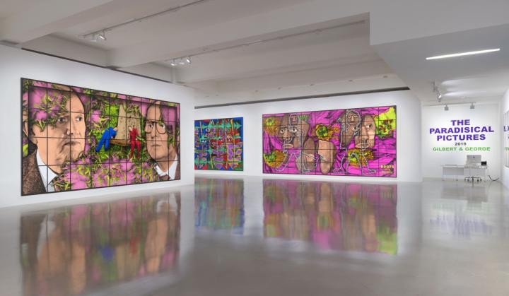 GILBERT & GEORGE, THE PARADISICAL PICTURES, Sprüth Magers, Los Angeles