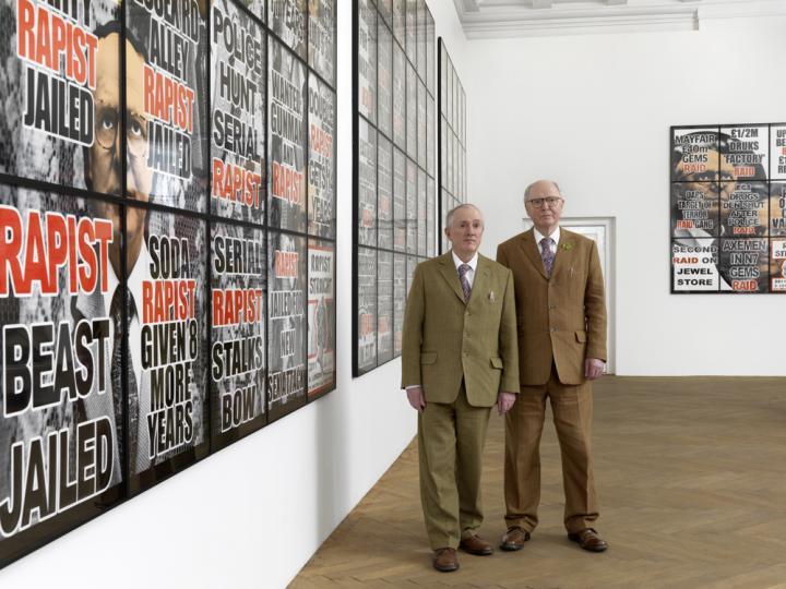 Installation view_Gilbert_George_London_Pictures_Arndt Berlin_2012_1