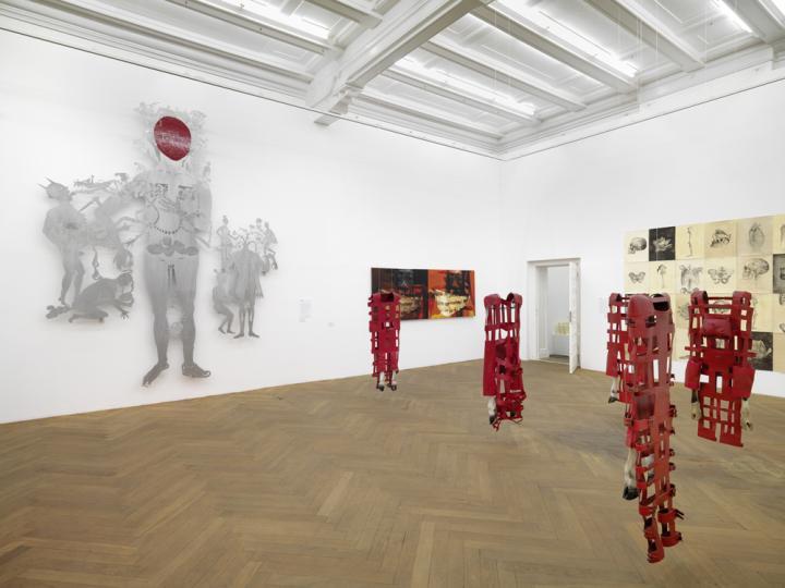 Installation view Sip Indonesian Art Today Arndt Berlin 2013