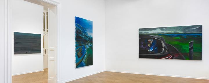 Rainer Fetting, Taxis Monsters and the Good Old Sea, Arndt Art Agency, Berlin