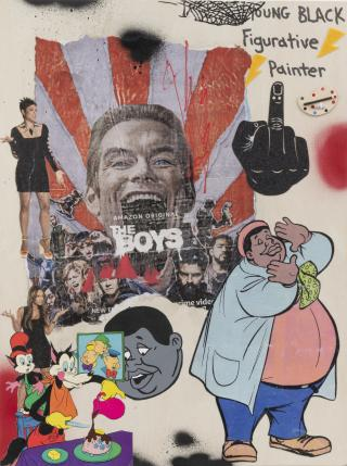 David Leggett, We them boys, 2021. Courtesy the artist