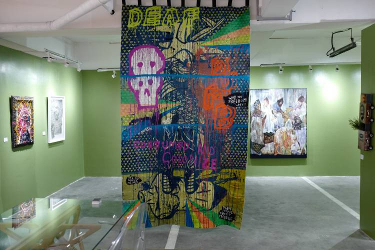 Art Fair Philippines 2018, Manila, Arndt Art Agency, Installation view 5.JPG