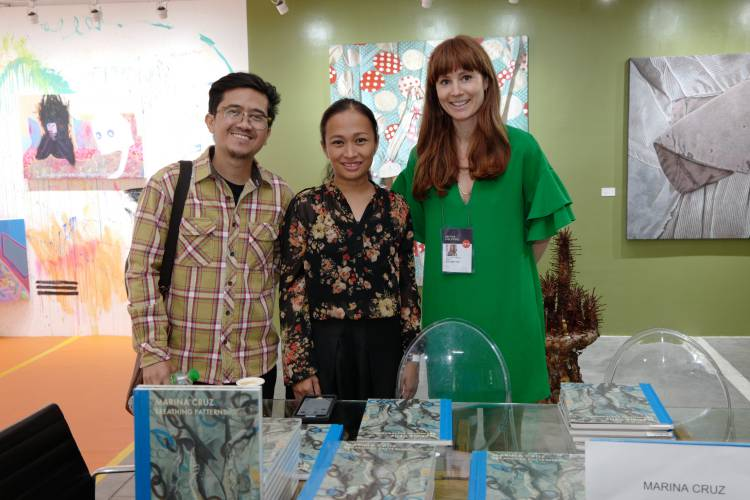 Art Fair Philippines 2018, Manila, Arndt Art Agency, Marina Cruz Book Launch 1.JPG