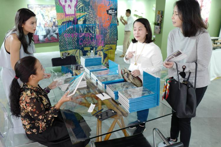 Art Fair Philippines 2018, Manila, Arndt Art Agency, Marina Cruz Book Launch 5.JPG