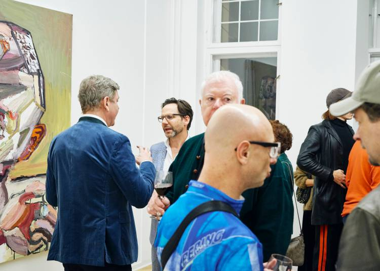 Ben Quilty, The Difficulty, Arndt Art Agency, Berlin, Opening Reception 11