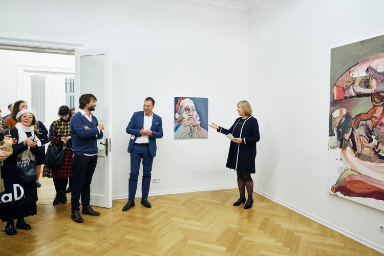 Ben Quilty, The Difficulty, Arndt Art Agency, Berlin, Opening Reception 2