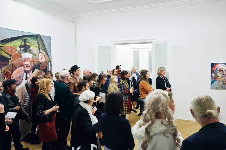 Ben Quilty, The Difficulty, Arndt Art Agency, Berlin, Opening Reception 3