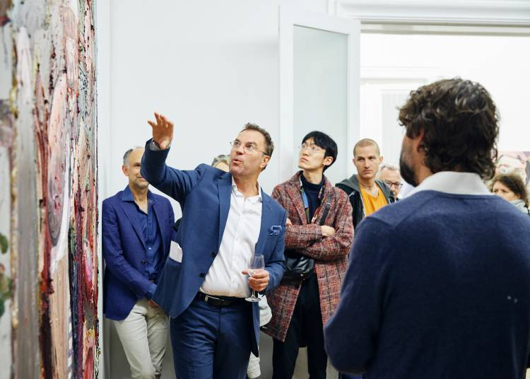 Ben Quilty, The Difficulty, Arndt Art Agency, Berlin, Opening Reception 4