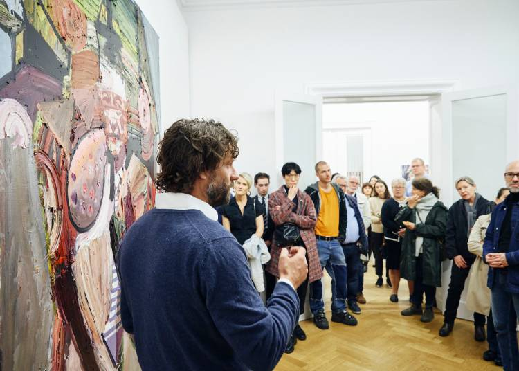 Ben Quilty, The Difficulty, Arndt Art Agency, Berlin, Opening Reception 5