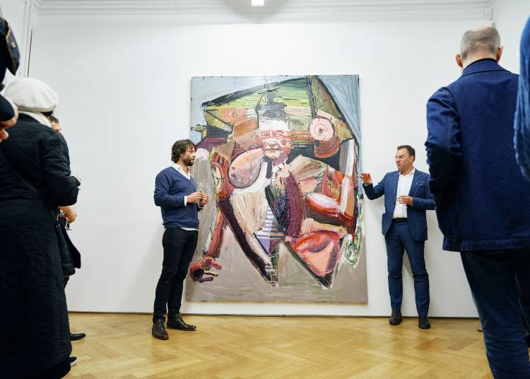 Ben Quilty, The Difficulty, Arndt Art Agency, Berlin, Opening Reception 6