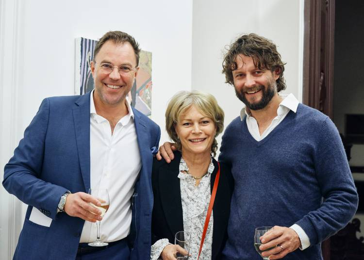 Ben Quilty, The Difficulty, Arndt Art Agency, Berlin, Opening Reception 8