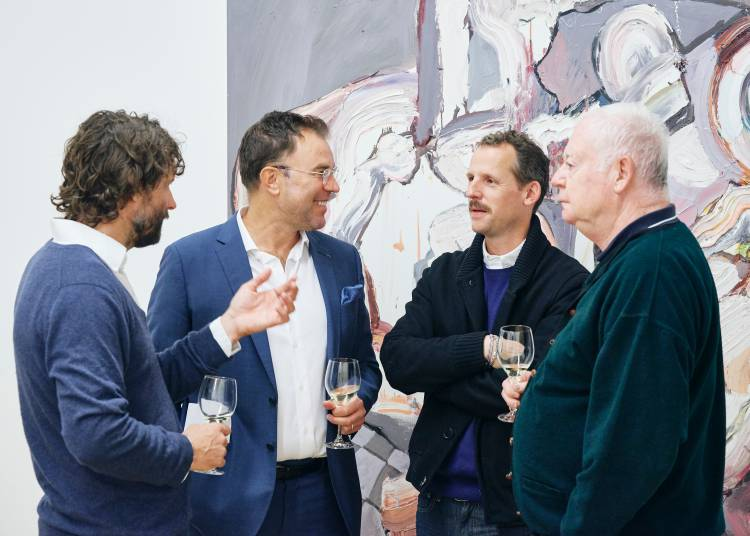 Ben Quilty, The Difficulty, Arndt Art Agency, Berlin, Opening Reception 9