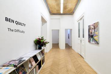 Ben Quilty, The Difficulty, Arndt Art Agency, Berlin, Installation view 3