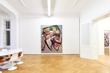 Ben Quilty, The Difficulty, Arndt Art Agency, Berlin, Installation view 4
