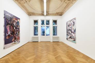 Ben Quilty, The Difficulty, Arndt Art Agency, Berlin, Installation view 5