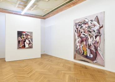 Ben Quilty, The Difficulty, Arndt Art Agency, Berlin, Installation view 7