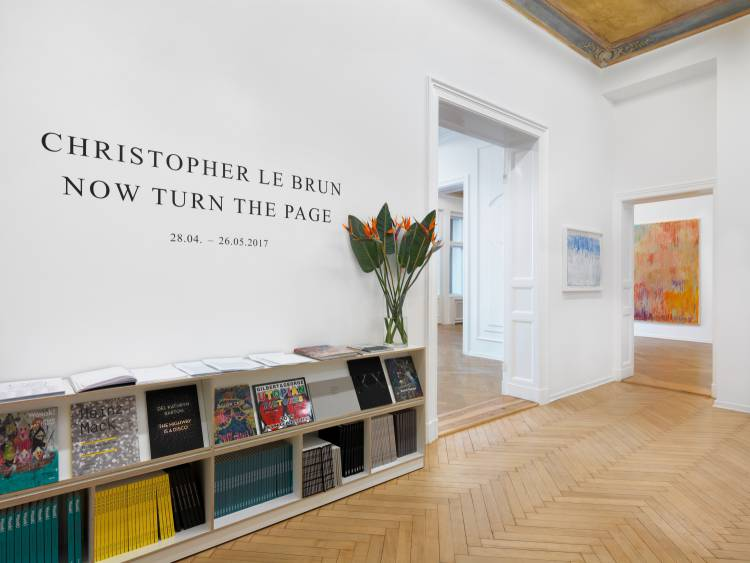 Christopher Le Brun, Now Turn the Page, Arndt Art Agency, Berlin, Installation view 3