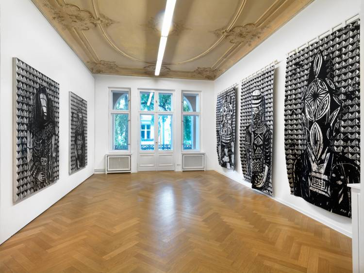 Eko Nugroho, Plastic Democracy, Arndt Art Agency, Berlin, Installation view 7