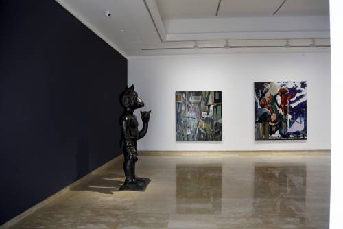 Heavenly Bodies, He Xiangning Art Museum Shenzhen, China, Installation view 10