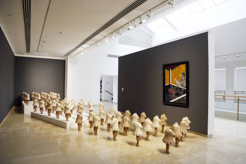 Heavenly Bodies, He Xiangning Art Museum Shenzhen, China, Installation view 3