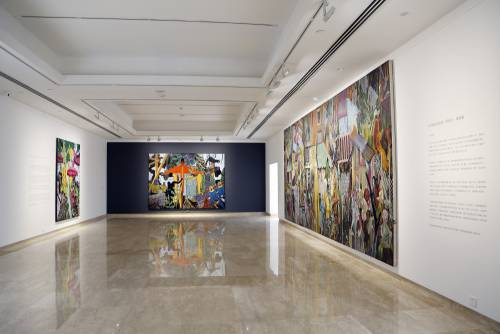 Heavenly Bodies, He Xiangning Art Museum Shenzhen, China, Installation view 4
