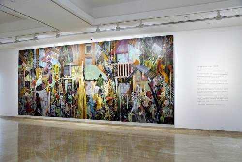 Heavenly Bodies, He Xiangning Art Museum Shenzhen, China, Installation view 5