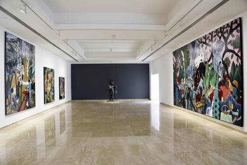 Heavenly Bodies, He Xiangning Art Museum Shenzhen, China, Installation view 7