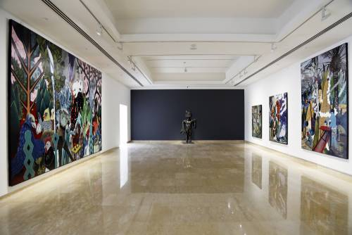 Heavenly Bodies, He Xiangning Art Museum Shenzhen, China, Installation view 8