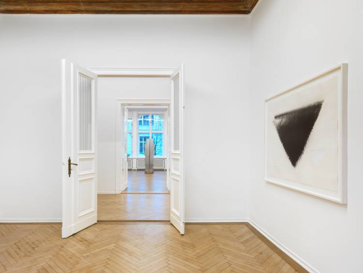 Heinz Mack, Review and Outlook, Arndt Art Agency, Berlin, Installation view 3