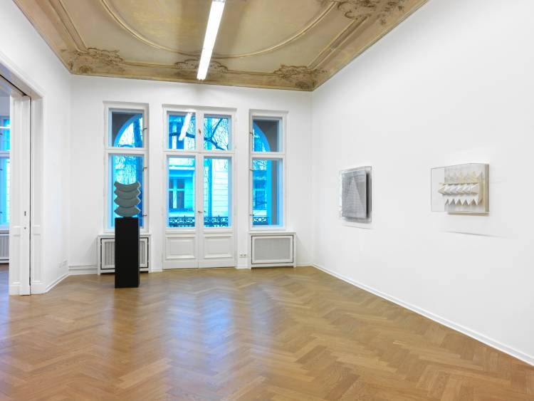 Heinz Mack, Review and Outlook, Arndt Art Agency, Berlin, Installation view 6