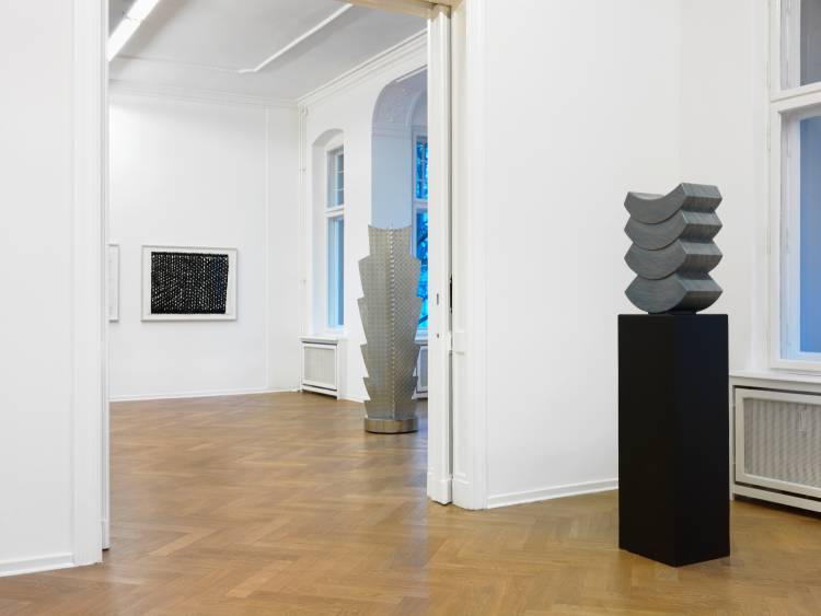 Heinz Mack, Review and Outlook, Arndt Art Agency, Berlin, Installation view 8