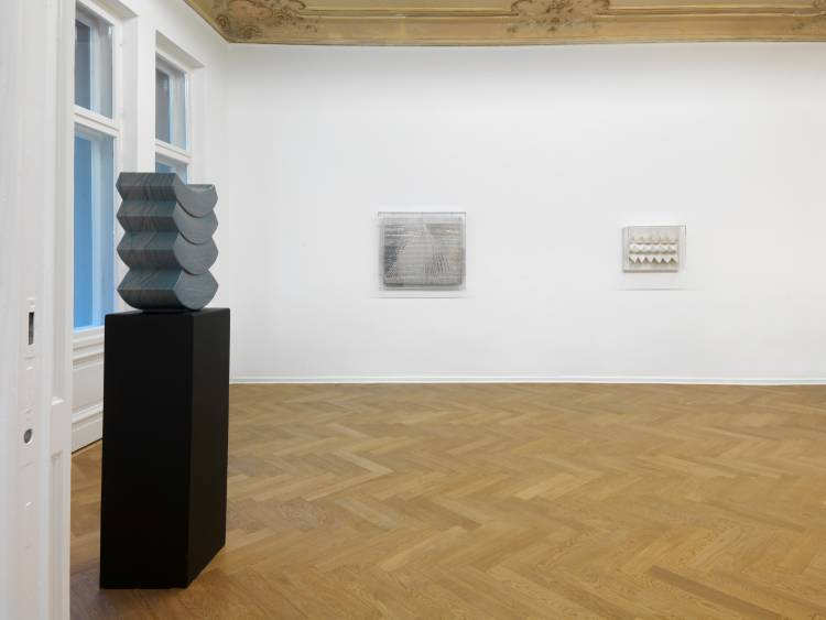 Heinz Mack, Review and Outlook, Arndt Art Agency, Berlin, Installation view 9