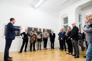Heinz Mack, Review and Outlook, Arndt Art Agency, Berlin, Opening Reception 12