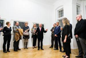 Heinz Mack, Review and Outlook, Arndt Art Agency, Berlin, Opening Reception 13