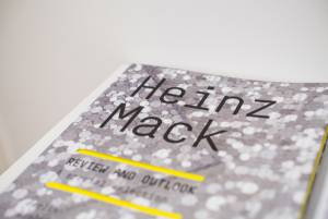 Heinz Mack, Review and Outlook, Arndt Art Agency, Berlin, Opening Reception 2