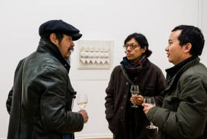 Heinz Mack, Review and Outlook, Arndt Art Agency, Berlin, Opening Reception 4
