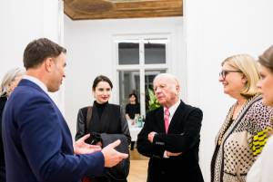 Heinz Mack, Review and Outlook, Arndt Art Agency, Berlin, Opening Reception 7