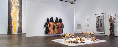Indigenous Australia Masterworks from the National Gallery of Australia, Me Collectors Room Berlin, Installation view 1