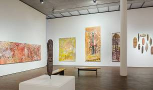 Indigenous Australia Masterworks from the National Gallery of Australia, Me Collectors Room Berlin, Installation view 2