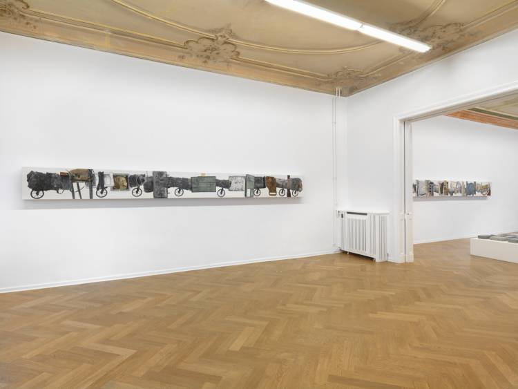 Jose Santos III, Distance between two points, Arndt Art Agency, Berlin, Installation view 6