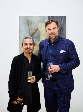 Kaloy Sanchez, No Exit, Arndt Art Agency, Berlin, Opening Reception 2