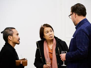 Kaloy Sanchez, No Exit, Arndt Art Agency, Berlin, Opening Reception 4
