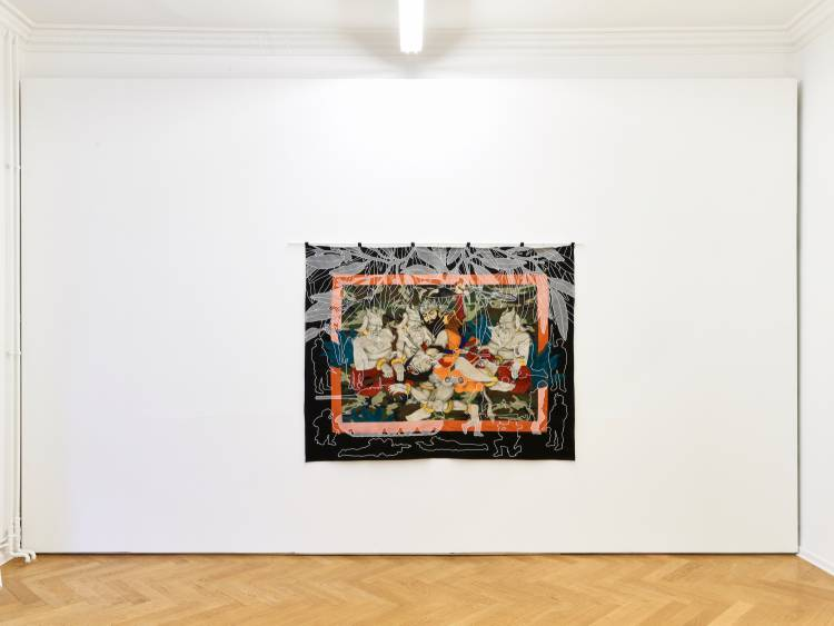 Khadim Ali, Actors, Arndt Art Agency, Berlin, Installation view 3