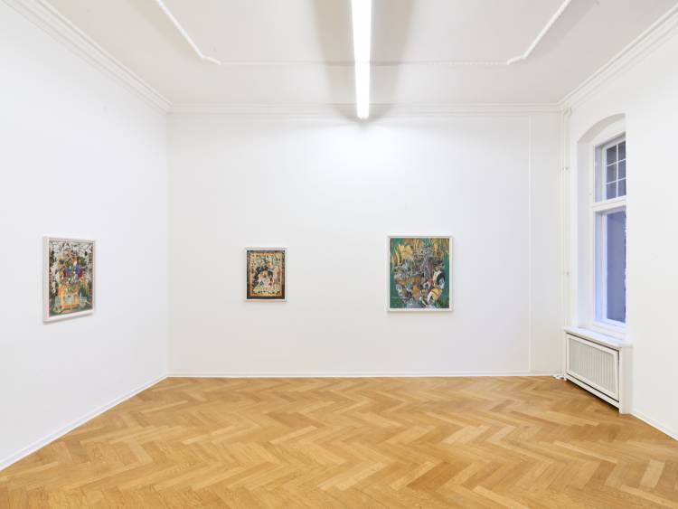 Khadim Ali, Actors, Arndt Art Agency, Berlin, Installation view 4