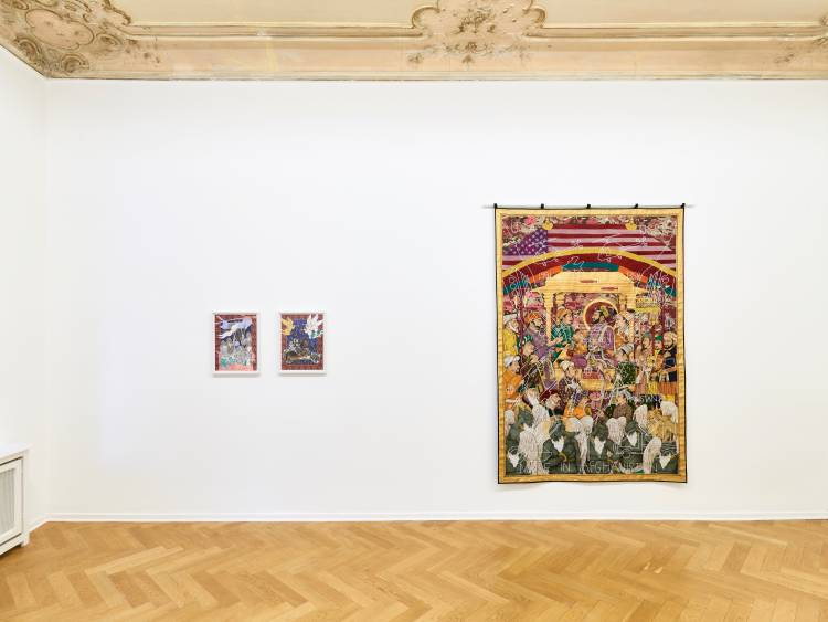 Khadim Ali, Actors, Arndt Art Agency, Berlin, Installation view 5