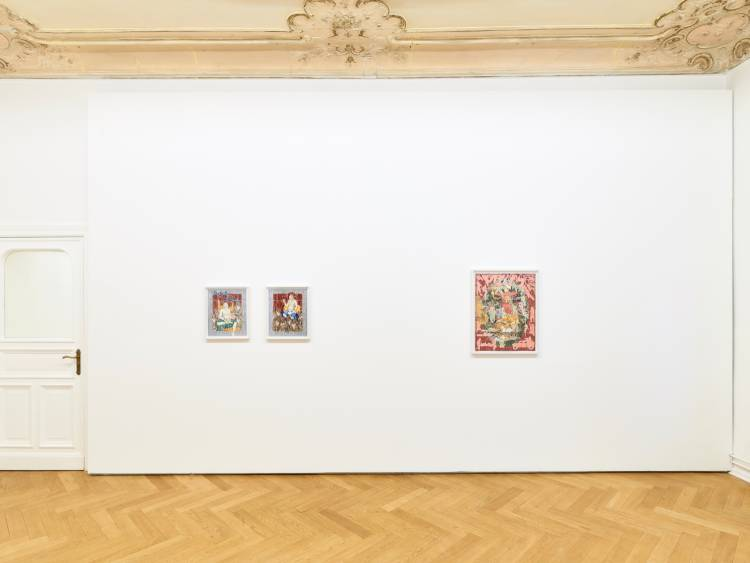 Khadim Ali, Actors, Arndt Art Agency, Berlin, Installation view 6