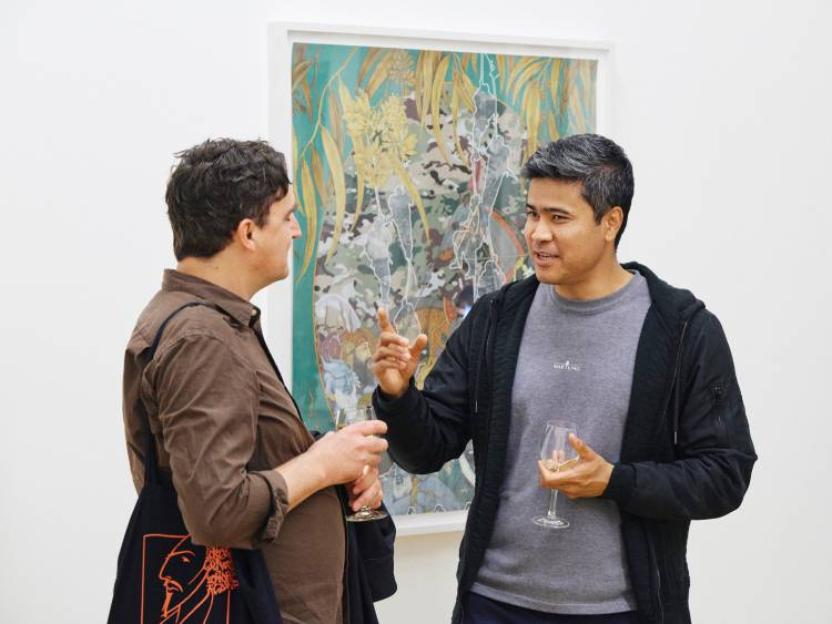 Khadim Ali, Actors, Arndt Art Agency, Berlin, Opening Reception 7