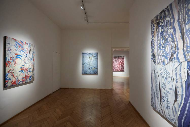 Marina Cruz, Read between the lines, Galerie Ernst Hilger, Vienna, Installation view 6
