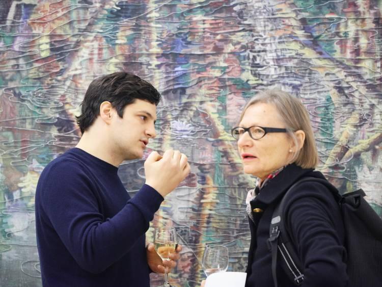 Marin Majic, ICH UND ICH, Arndt Art Agency, Berlin, Opening Reception 3